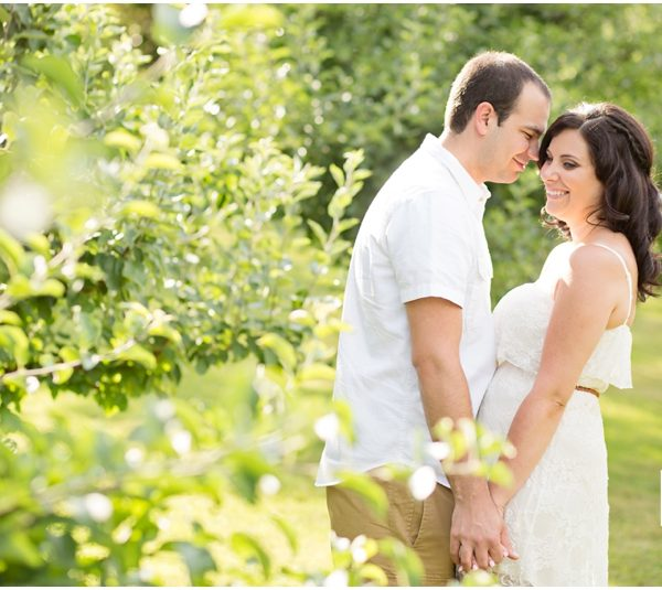 Melissa & Brad  |  Greendance Winery Engagement Session