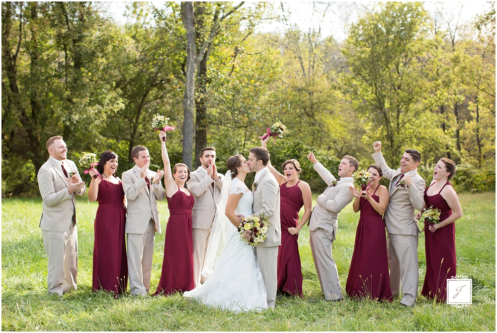 Cranberry Fall Wedding At Rizzos In Crabtree Greesnburg Venue Jackson Signature Photography A