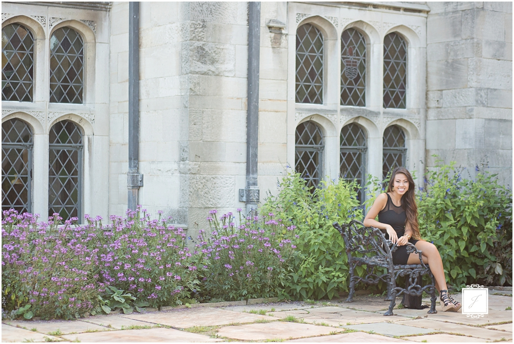 Classic Senior Portrait Session in Pittsburgh at Hartwood Acres by Jackson Signature Photogtraphy