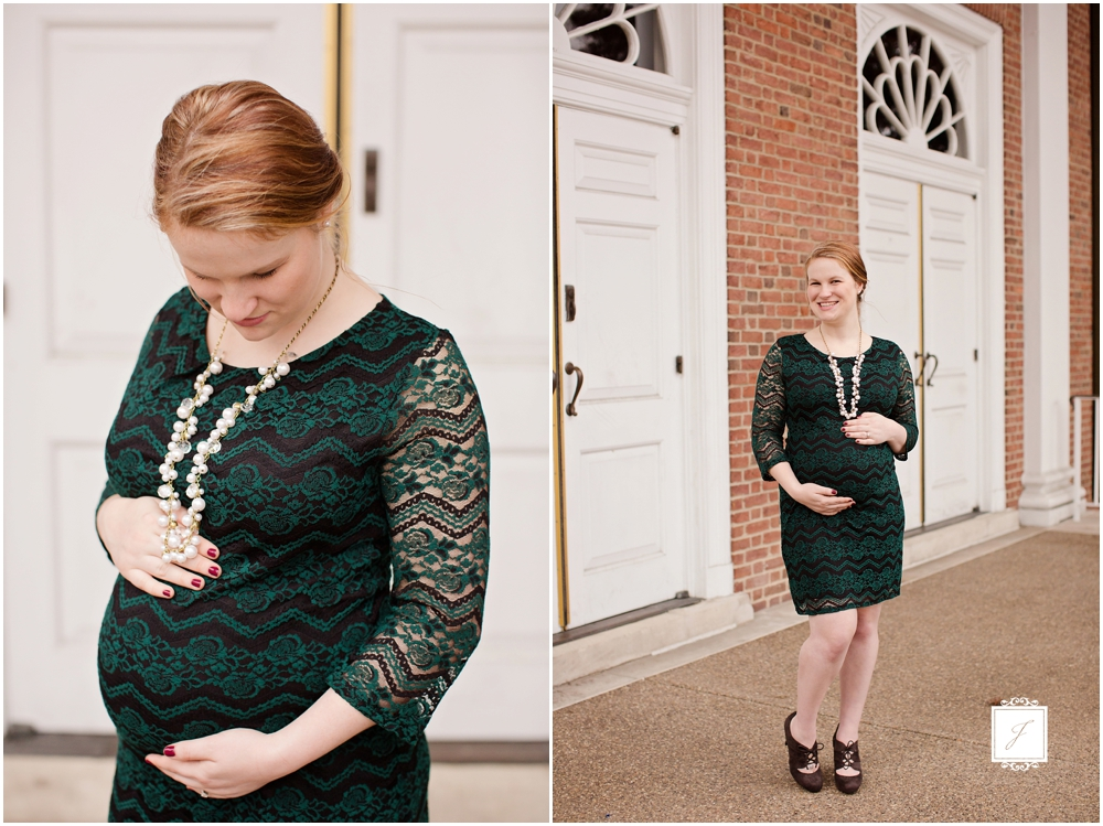 Classic Fall maternity portrait session in Ligonier by Jackson Signature Photography