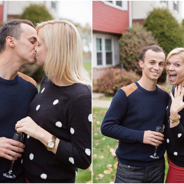 Kelly & Anthony  |  A Charming Fall Proposal Story