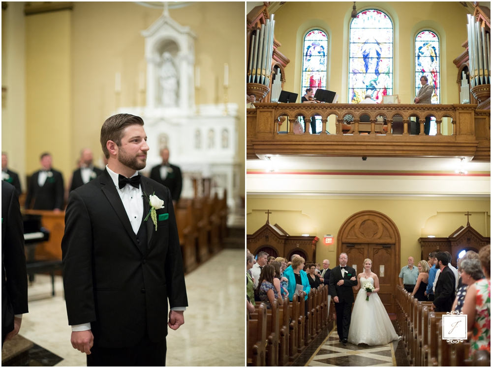Mount Saint Mary's University Church Wedding Favorite Wedding Venue by Jackson Signature Photography Pennsylvania and Destination Wedding Photographer
