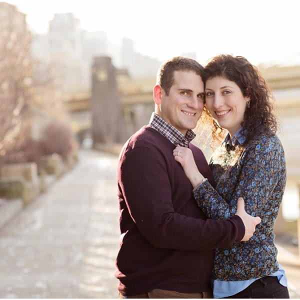 Sarah & Eric  |  Engagement Session at The Pennsylvanian Pittsburgh