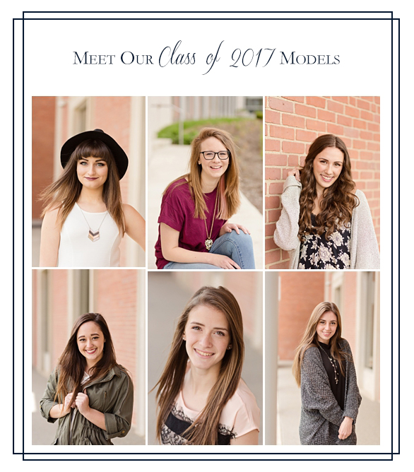 Class of 2017 Senior Models