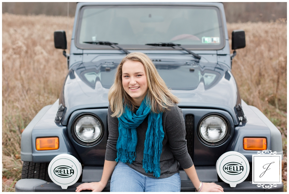 Paige's late fall senior photos by Jackson Signature Photography, Greensburg Senior Portrait Photographer