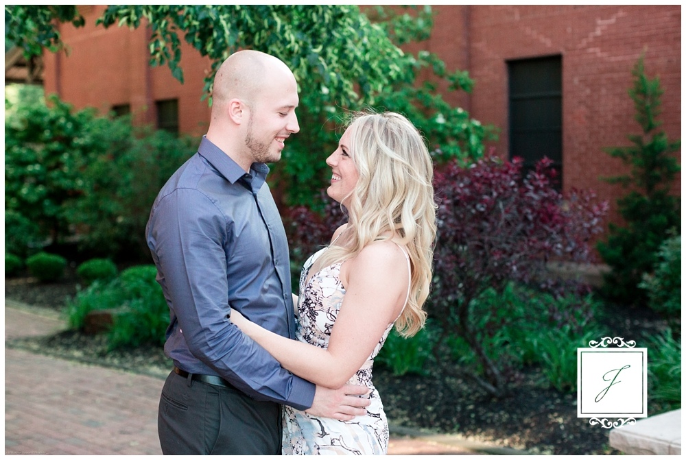 Brittany and Michael's Station Square and Mount Washington Engagement Session by Jackson Signature Photography a Pittsburgh Wedding Photographer