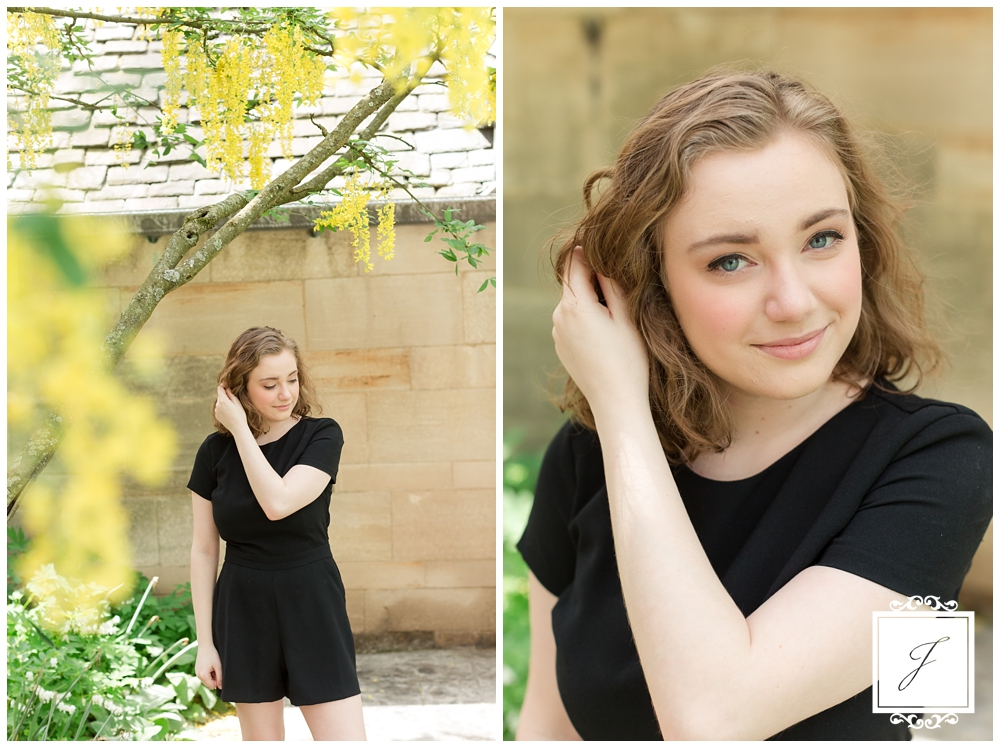Analeigh's Hartwood Acres Senior Session by Jackson Signature Photography a Pittsburgh Senior Portrait Photographer