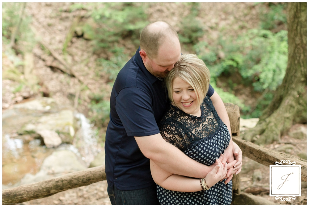 Kristen and Craig's Laurel Highlands Engagement Session at Linn Run by Jackson Signature Photography a Ligonier Wedding Photographer