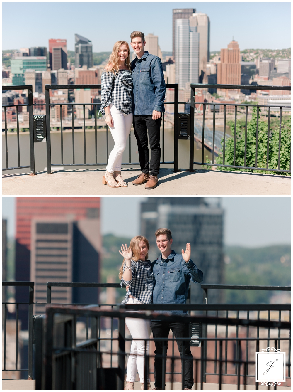 Rachael and Nate's Mount Washington Proposal by Jackson Signature Photography a Pittsburgh Wedding Photographer