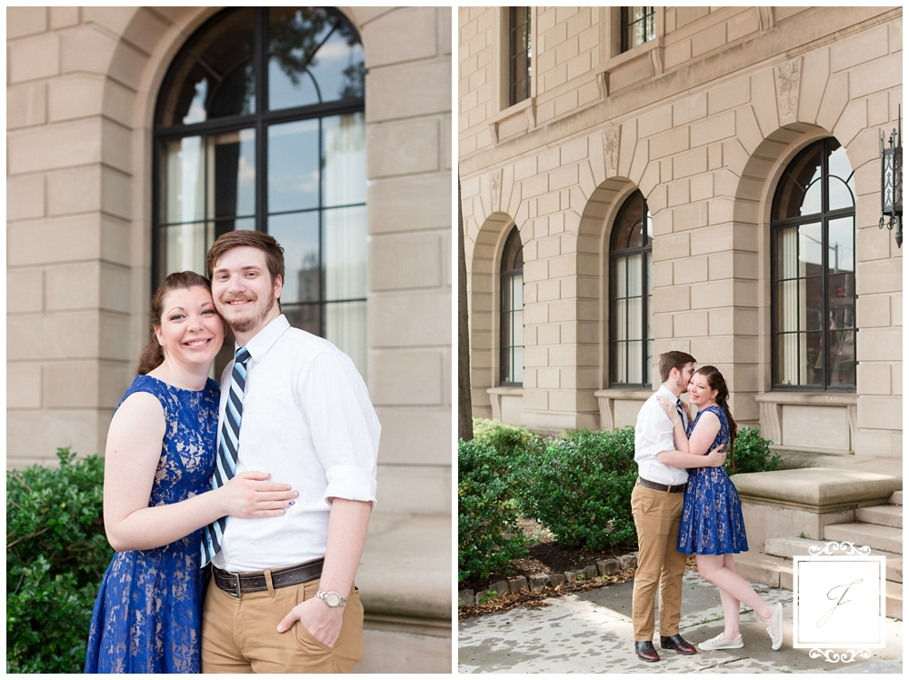 Downtown Butler Engagement Session by Jackson Signature Photography a Butler Wedding Photographer