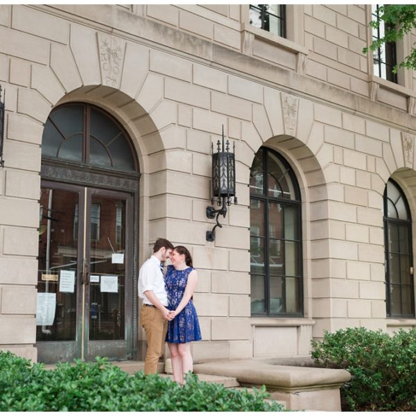 Jeff & Liz | Downtown Butler Engagement Session | Jackson Signature Photography | Butler Wedding Photographer
