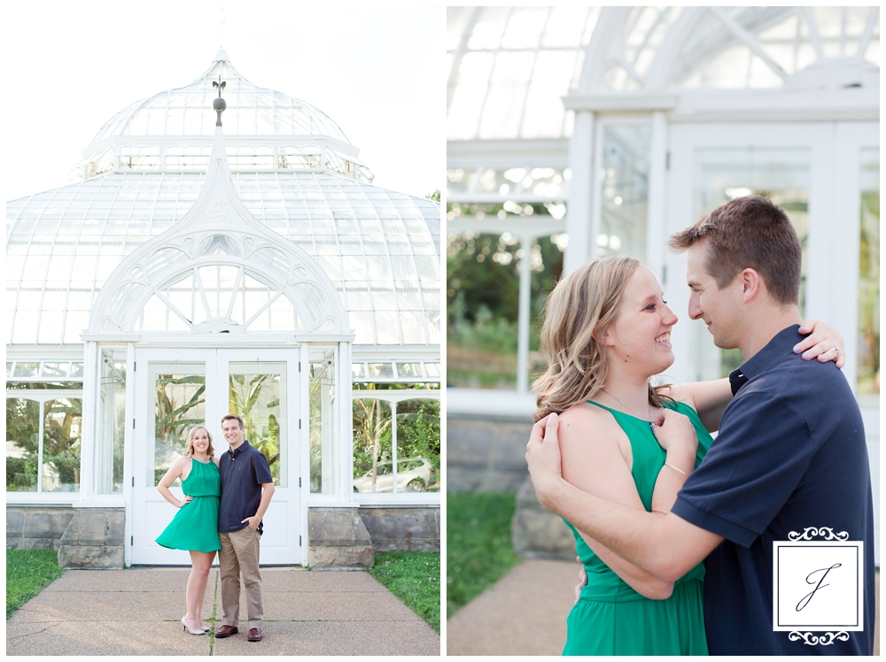 Phipps Conservatory Engagement Session by Jackson Signature Photography a Pittsburgh wedding Photographer