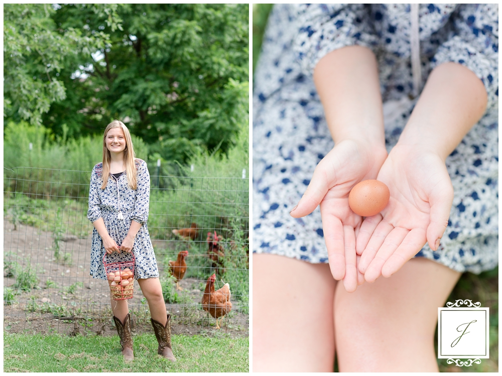 Farm Senior Portrait Session, Latrobe Senior Portraits, Greater Latrobe Senior Portrait Photographer, Farm Summer latrobe Senior Portraits, Farm Style Senior Photos, Green Gables Senior Portraits, Chicken Senior Photos, Photos with Chickens, Greensburg Senior Portrait Photographer, Pittsburgh Senior Portrait Photographer, Jackson Signature Photography