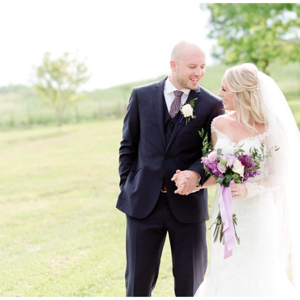 Brittany & Michael's Summer West Overton Barn Wedding
