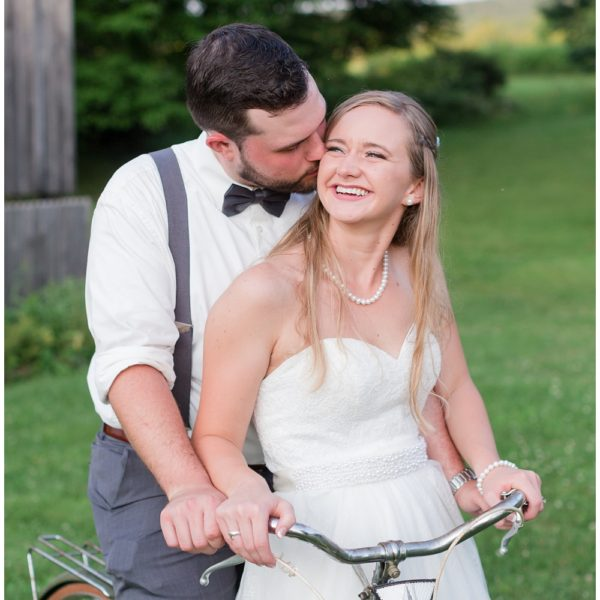 Patrick & Tarah's Bicycle Theme Wedding at SanaView Farms