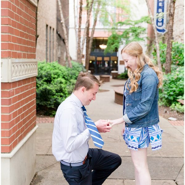Nick & Miranda's Knoxville Tennessee Proposal  |  Travel Wedding & Engagement Photographer