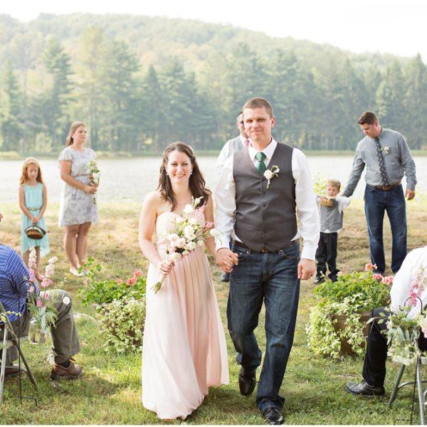 Private Lakeside Wedding | Ligonier Wedding Photographer