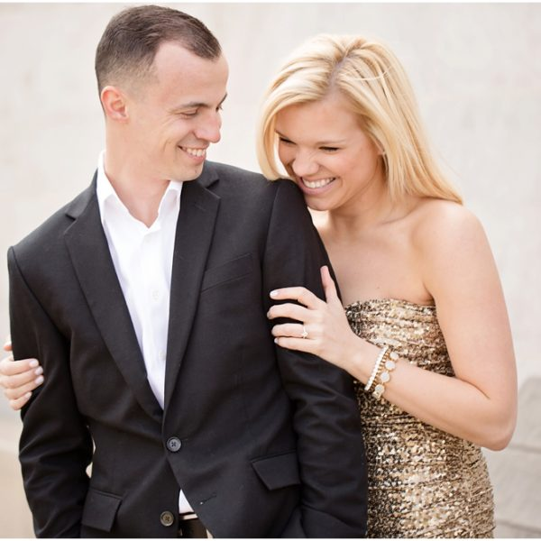 Kelly & Anthony | Pittsburgh Mellon Park Engagement Session
