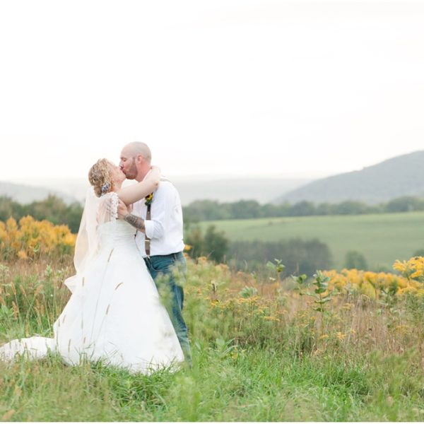 Alicia & Steve's Wedding | Elopement Wedding Photographer | Emporium Pennsylvania