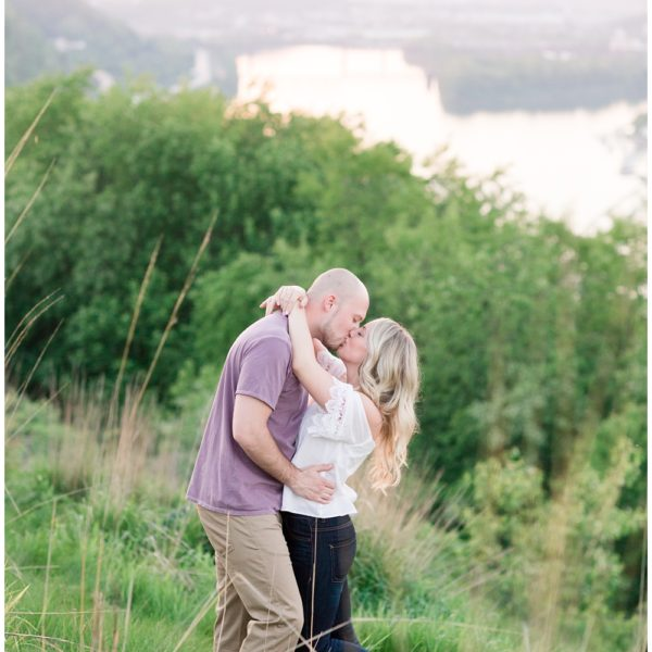 Brittany & Michael | Mount Washington Engagement Session | Pittsburgh Wedding Photographer