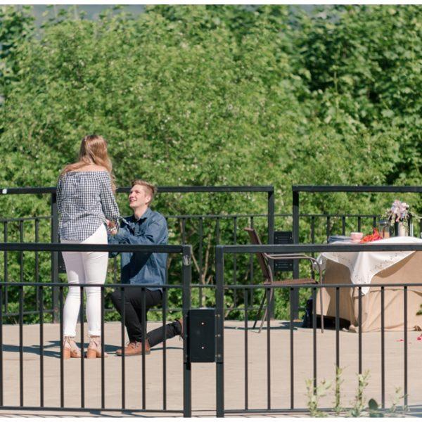 Rachael & Nate | Mount Washington Proposal | Pittsburgh Wedding Photographer