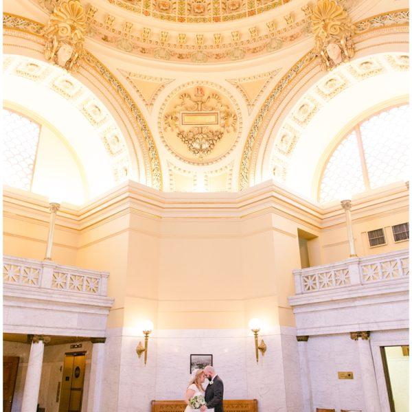 Jess & Lee   Westmoreland County Courthouse   Greensburg Wedding Photographer