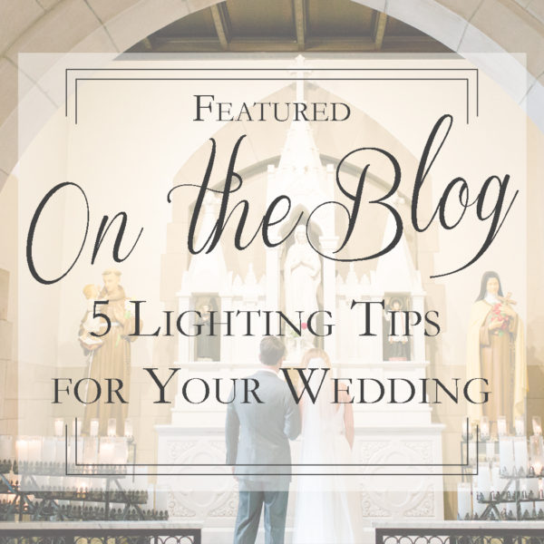 How Lighting Effects Your Wedding | 5 Wedding Lighting Tips | Pittsburgh Wedding Photographer