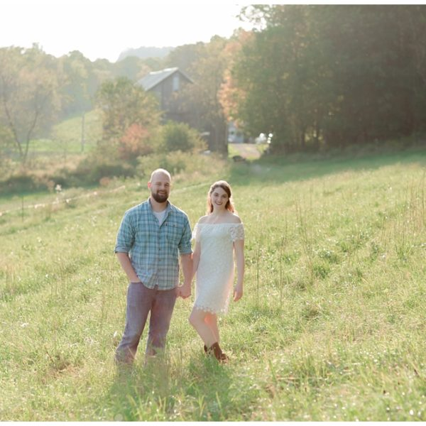 Katie & Ed | Summer Farm Engagement Session | Greensburg Engagment Photographer