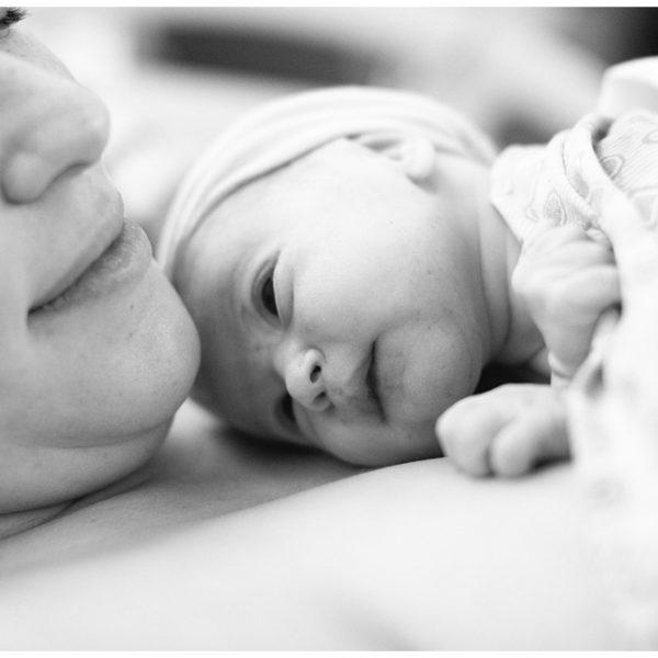 Caroline's Birth Story and Fresh 48 Portrait Session | Personal