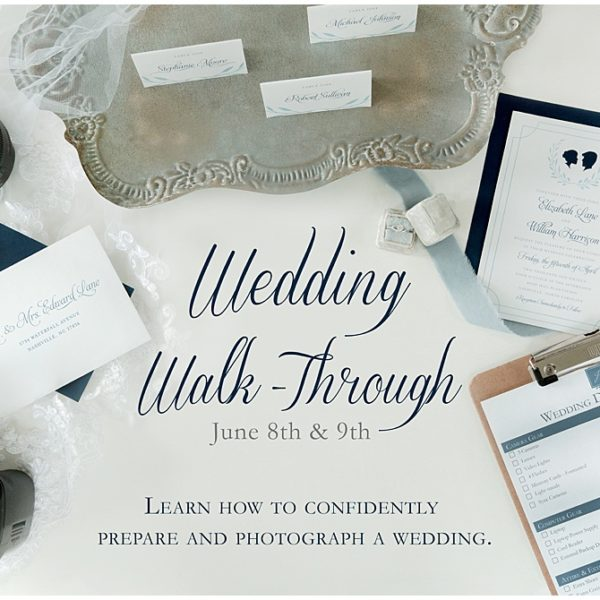 Wedding Day Walk-Through Training Workshop   Pittsburgh Wedding Photographer